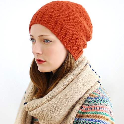 Jul Hat by Jenny Gordy en suri merino