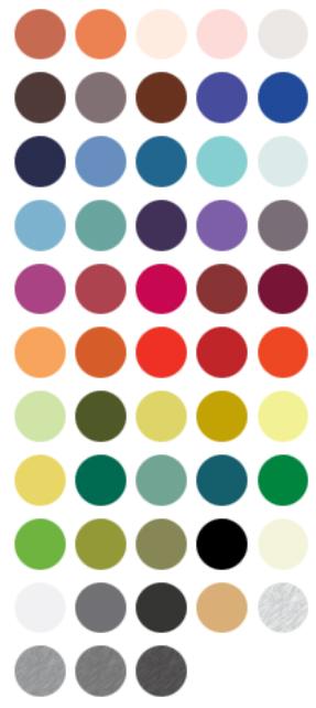Q paleta colores